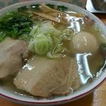 54541653 - 金の半熟煮玉子中華そば(普通)