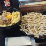 54543080 - 肉汁うどんスペシャル(1350円)です