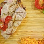 Restaurant la Raison - ランチプレート 平田牧場三元豚のグリルフレッシュトマトソース