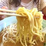 くるまやラーメン - ふと麺