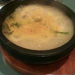 焼肉・韓国料理 韓味亭。 - カルビラーメン ぐつぐつ