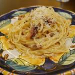 カンティーナ アルコ - ペコリーノチーズたっぷりのローマ風カルボナーラ(1400円)