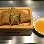 神戸六甲道・ぎゅんた - 大きさは写真の3割減 ぎゅんた焼き