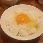 五十五番 - 追い飯ではなくて、普通に卵かけご飯で食べてしまった…