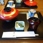 日本料理「雲海」 - 天丼セット ¥2,500