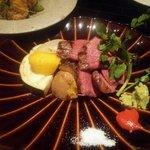 54549877 - 米沢牛肉もも炙り焼き