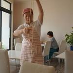 香膳 - ラグマンの麺実演