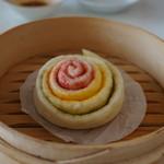 香膳 - 花巻饅