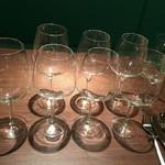 ワインレストラン ドミナス - ワイングラス