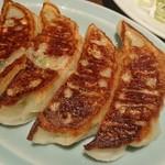 54557205 - ぷっくり焼き餃子