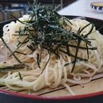 あかさき食堂 - 料理写真:中華ざる・のど越しが豊かでめちゃおいしいぞ・丁寧で深いお出汁がたまりません