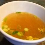しゃんらん - 四川省の麻婆豆腐セット(スープ)
