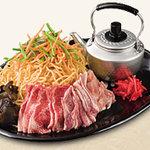 道とん堀 - 肉スペシャル焼きそば またはうどん