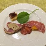 エトワール - 鴨肉と生ハム
