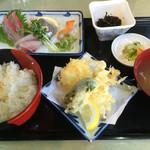 魚がし食堂はま蔵 - 料理写真:刺身定食