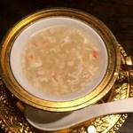 チャイナムーン - 蟹肉と海鮮のとろみスープ