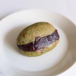パネ・ポルチーニ - 緑茶のあんバター