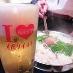もつ鍋 極味や 西新店 - 夏こそ!熱々スタミナ満点のモツ鍋!
