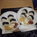 手塚ryokan - 夜食用のおにぎり