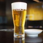 Yakinikutoraji - 生ビール¥650