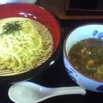 桂や - 濃厚魚介つけ麺(800円)
