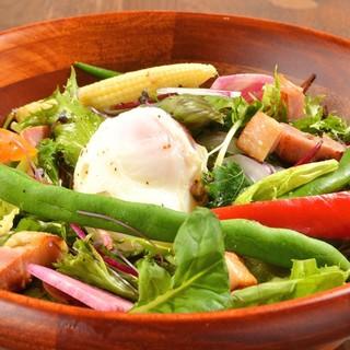 ★素材の味を大事に…野菜や肉など厳選した食材を使用♪