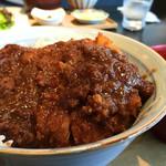 レストラン酢重正之 - 信州味噌カツ丼1,330円