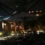 ホテルオークラ神戸 テラスレストラン ビアガーデン - 雰囲気は悪くない