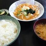 かどや食堂 - マーボライス650円