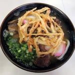本陣うどん - 料理写真:特製うどん630円 本来は海老天なのだが・・・