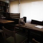 海鮮和食と日本酒 もっせ - 4人テーブル席