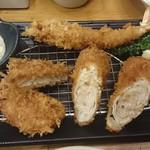 新宿さぼてん - エビちゃんがダイエットして登場しました。 (T^T)⤵