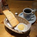 コメダ珈琲店 - 選べるモーニング(手作りたまごペースト)