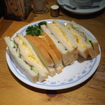 コメダ珈琲店 - ミックスサンド