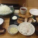 新宿さぼてん - 実際のにぎわい定食 1388円税込