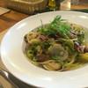 ボッチーノ - 料理写真:春キャベツとホタルイカのスパゲティ