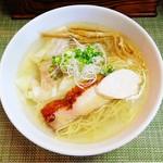 麺や金時 - 塩ワンタン麺