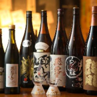 日本酒常時100種類!十四代入荷!日本酒ファンを射抜きます!