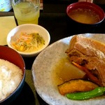 なんちち食堂 - 『ラフテー定食』¥900-
