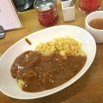 カレーショップ ボナッ - ボナッカレー(辛口)950円