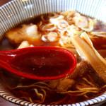 陣屋 - たまり醤油のあっさりスープ