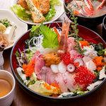 どまん中 - 海鮮漁師丼