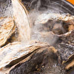 どまん中 - ぷりぷり牡蠣の漁師風呂