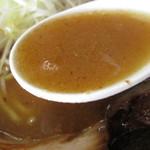らー麺山之助 - スープの濃度。                       28.8.8