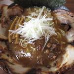 らー麺山之助 - 魚だし白湯チャーシュー980円。                                       28.8.8