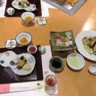 花れぶん - 料理写真:夕食(初めのセット)