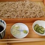 昭和屋 そば琳 - 板そば 普通盛 1・5食
