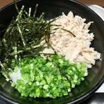 54579868 - 「鶏飯茶漬け」(税抜580円)