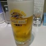 ゴーゴーカレー - 生ビール