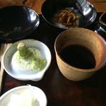 蕎麦屋二想 - 料理写真:山葵が丸ごと…!